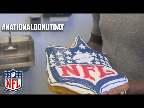 Doughnut Cheat Day with DeMarcus Ware | #NationalDounutDay | Talk Now | NFL NOW