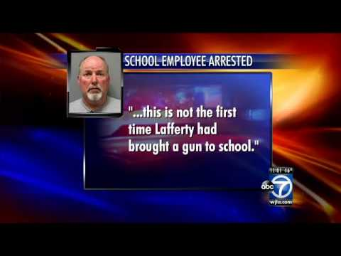 Stephen Lafferty, Georgetown Prep employee, accused of bringing gun to school