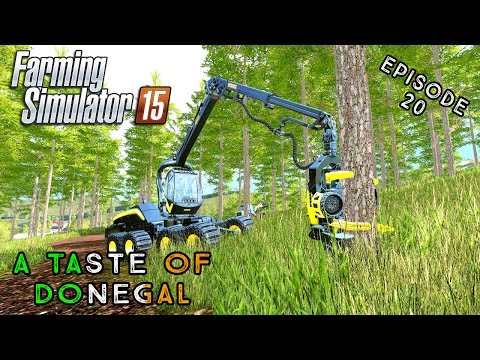 Let's Play Farming Simulator 2015 | A Taste of Donegal | Episode 20