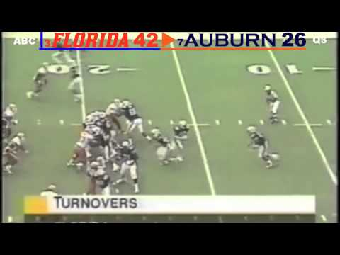 1995: #3 Florida Gators vs. #7 Auburn Tigers