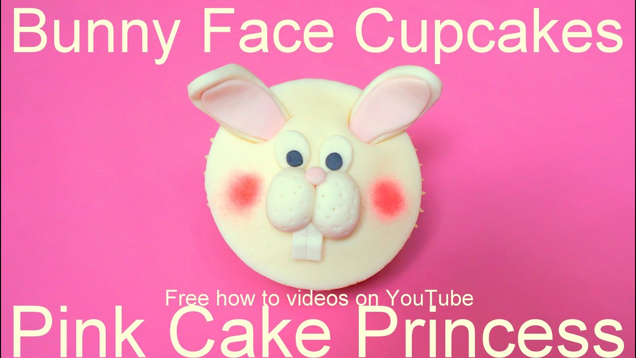 Easter Cupcakes  How To Make An Easter Bunny Rabbit Cupcake