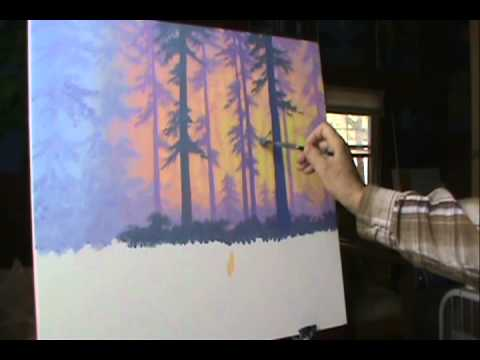 maleri på lerret tips