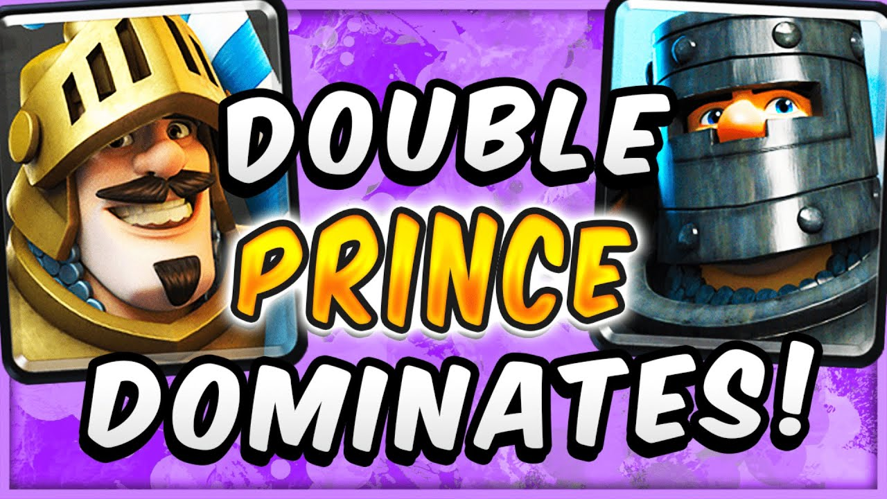 EFFORTLESS OFFENSE! EASY WINS w/ GIANT DOUBLE PRINCE DECK — Clash Royale