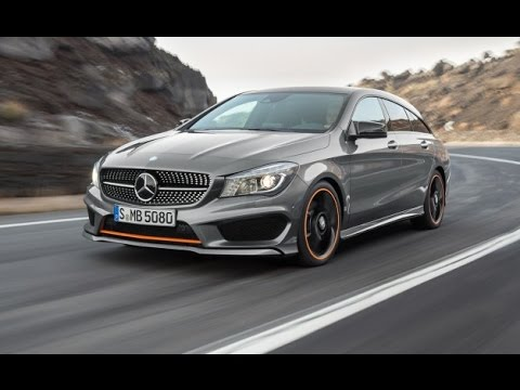 Mercedes Cla 250 Shooting Brake Youtube