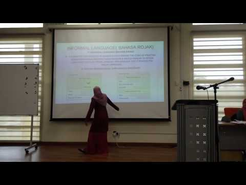 BBI2423 G16 FINAL PROJECT ( THE MISUSE OF MALAY LANGUAGE IN SOCIAL MEDIA )