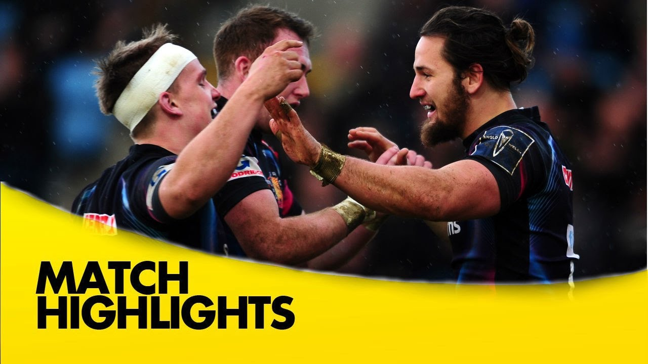 Exeter Chiefs V Wasps Anglo Welsh Cup 2016 17 Youtube