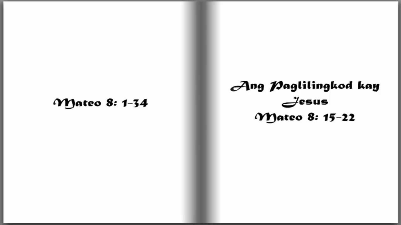 These Last Days Bible Study Lessons - Tagalog