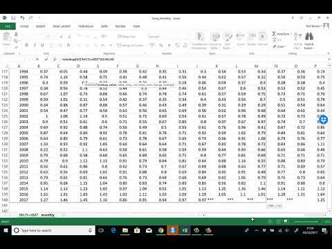From Matrix to vector in EXCEL