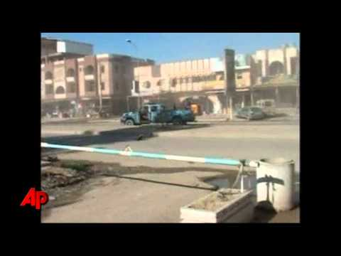 Raw Video: Photographer Captures Iraq Blast