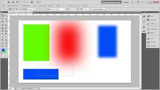05  Прямоугольное выделение  Выбор цвета, заливка выделенной области