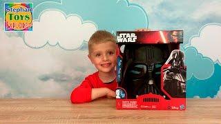 Шлем Дарта Вейдера изменяющий голос Звездные Войны Darth Vader voice changing helmet Star Wars