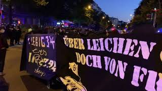 Demo gegen Räumung von