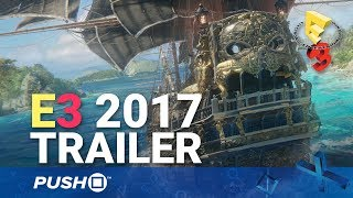 Skull and Bones (Ubisoft Pirates Game) PS4 Reveal Trailer | PlayStation 4 | E3 2017