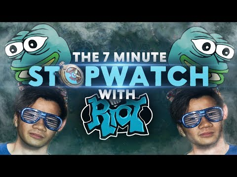 Shiphtur | THE 7 MINUTE STOPWATCH WITH A RIOTER!