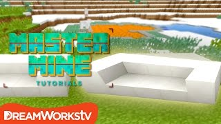 Make a Minecraft COUCH with Millie Ramsey from RoosterTeeth | MASTER MINE TUTORIALS