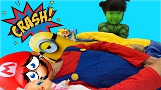 Ten in the Bed Song   교육으로 동요와 아기의 노래를 Mainan dan lagu anak-anak