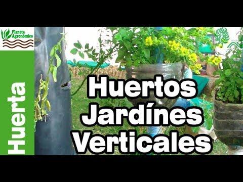 Huertos y jardines verticales caseros con botellas pvc y for Para que sirven los jardines verticales