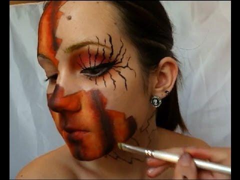 Maquillage artistique , Citrouille
