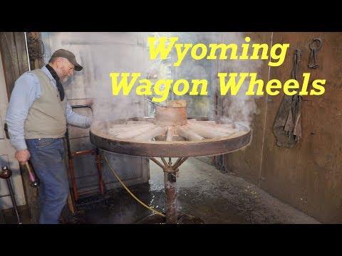Wyoming Farm Wagon Wheels