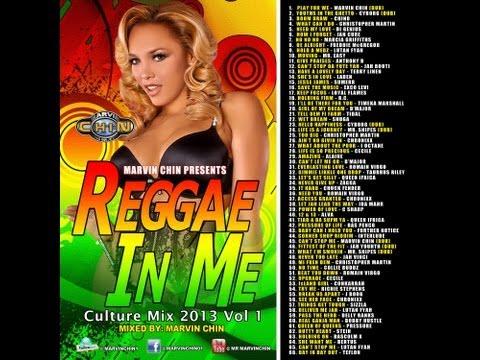 """REGGAE IN ME """"CULTURE MIX JAN 2013"""" ROMAIN VIRGO, CHRISTOPHER MARTIN, JAH CURE, LUTAN FYAH"""