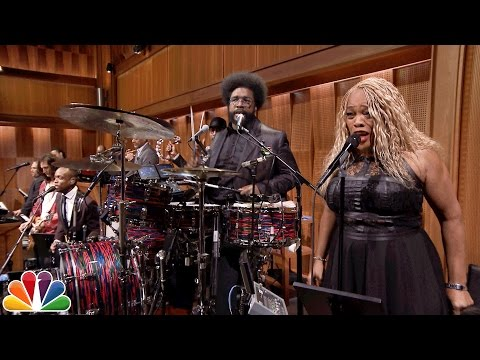 "Thumbnail: Audience Suggestion Box: New Tonight Show Theme Song, ""Slap Yo Weave Off"""
