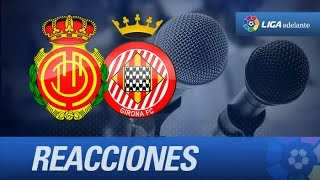 Rueda de prensa de Machín tras el RCD Mallorca (0-1) Girona FC