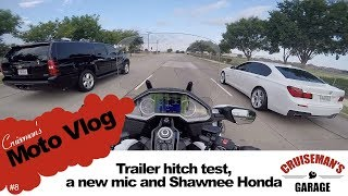 2018 Gold Wing Trailer Hitch and Shawnee Honda