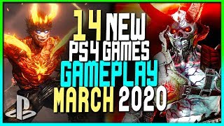 14 NEW Upcoming PS4 Games MARCH 2020 Gameplay - New PlayStation 4 Games 2020