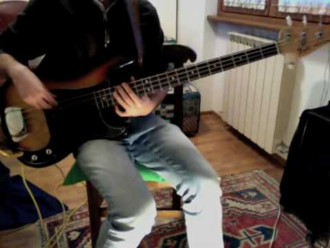 THE KILLERS - JOY RIDE bass cover by Gigabyte2 (HD AUDIO)