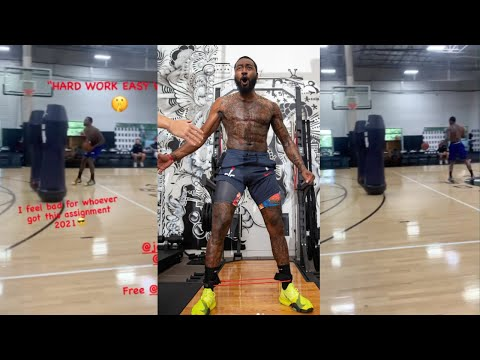 John Wall LOOKS HEALTHY Working In The Gym READY Wizards Season