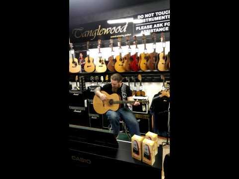 Music World Loughrea - Tanglewood Master Design TSM3 demo