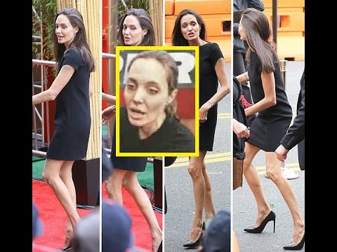 Angelina Jolie, hospitalizada por su extrema delgadez ... анджелина джоли анорексия