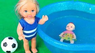 ЭВИН СЕКРЕТ  Мультик Барби Видео для детей Куклы Игры Для девочек IkuklaTV