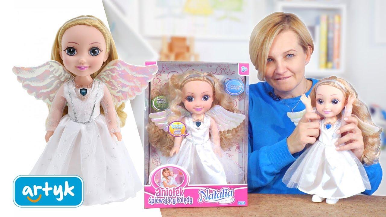 Aniołek Natalia śpiewający kolędy, Artyk