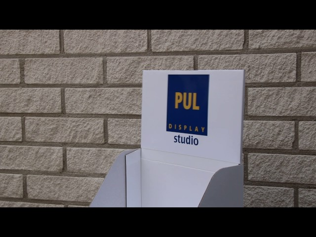 PUL display - leuk topkaart idee