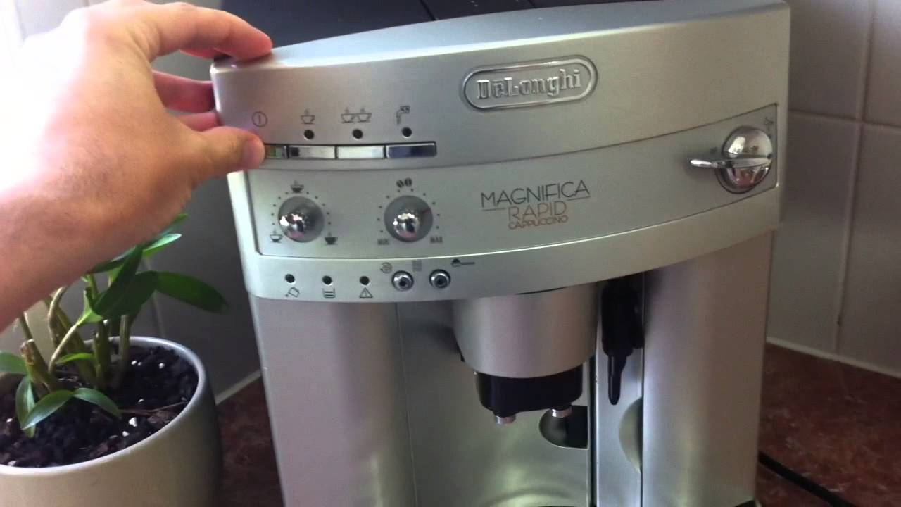delonghi magnifica faulty broken need help youtube. Black Bedroom Furniture Sets. Home Design Ideas