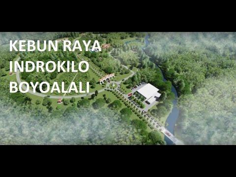 Pembangunan kebun raya indrokilo boyolali