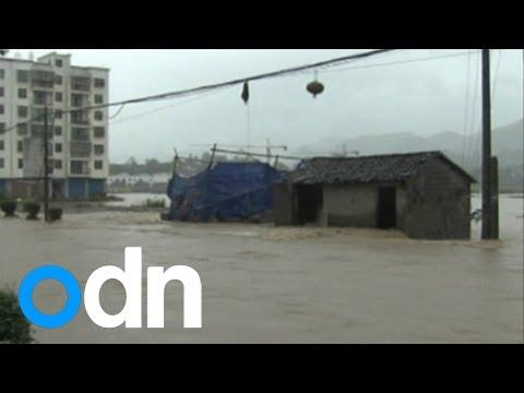 Floods, landslides and heavy rainfall devastate China's Chongqing region