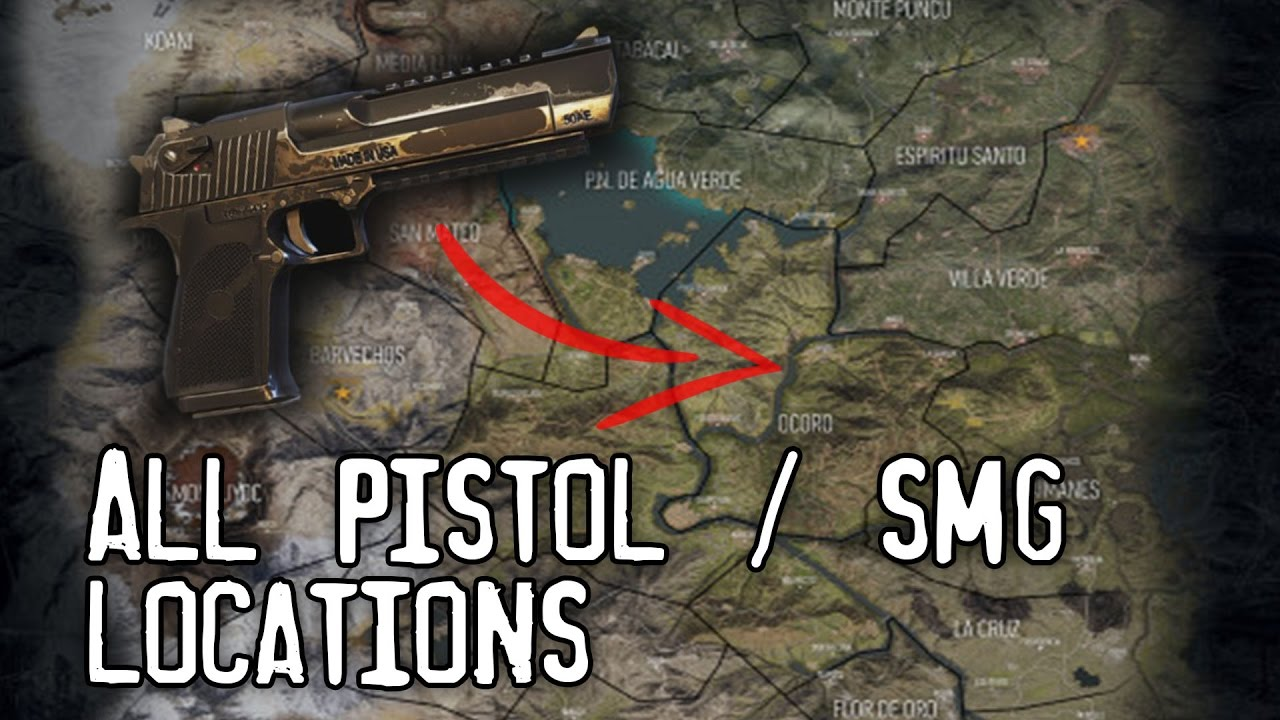 Ghost Recon Wildlands Karte.Ghost Recon Wildlands All Sidearm Locations Pistols And Smg S