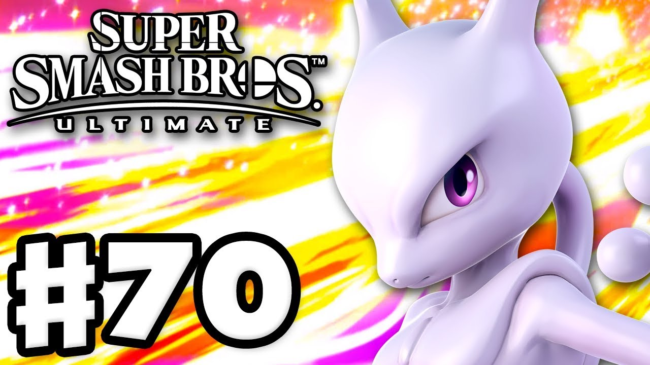 Mewtwo Super Smash Bros Ultimate Gameplay Walkthrough Part 70