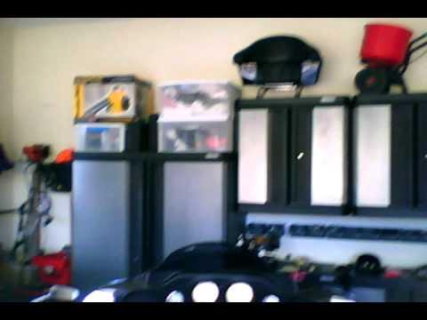 Construction and Garage w Kobalt Cabinets Gladiator
