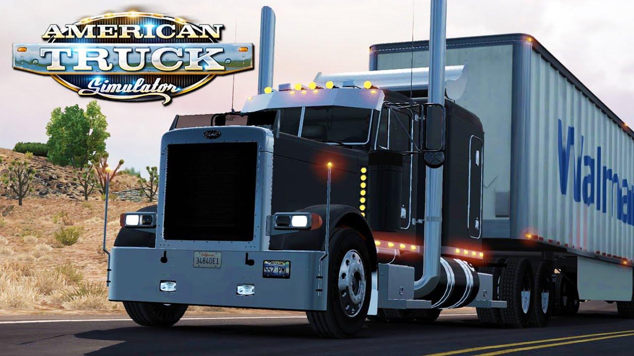 american truck simulator peterbilt 379 youtube. Black Bedroom Furniture Sets. Home Design Ideas