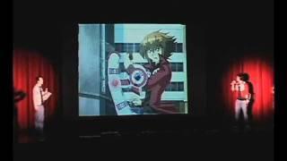 [REDUX] YUGI VS JADEN - RAP BATTLE! (Fan Made Live Performance)