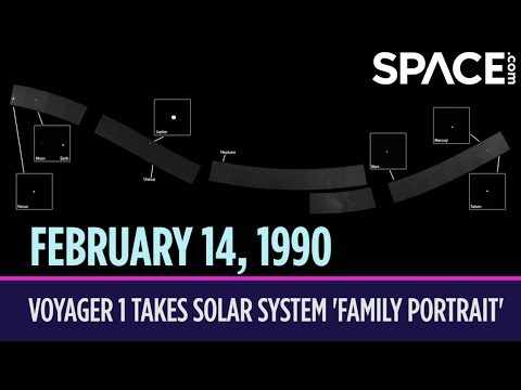 OTD in Space – February 14: Voyager 1 Takes Solar System 'Family Portrait'