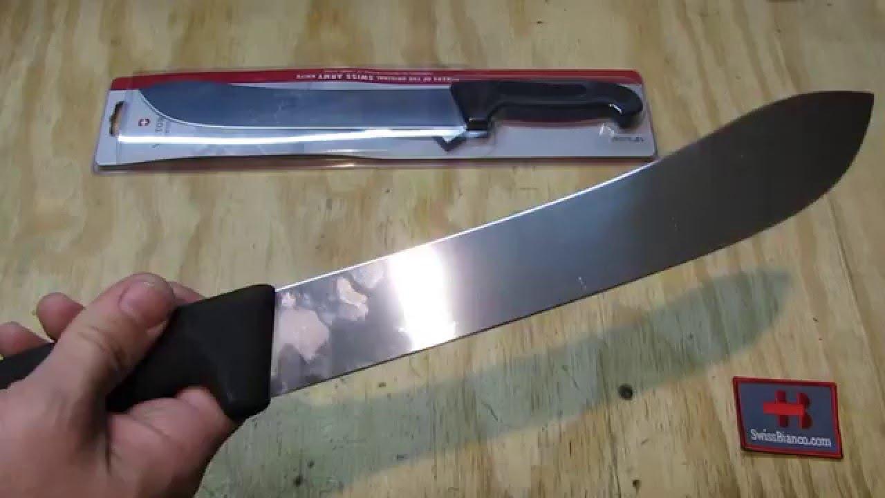 victorinox 10 inch butcher knife youtube
