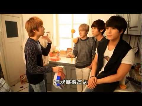 FTISLAND - behind the scenes Greeting Making (2012)