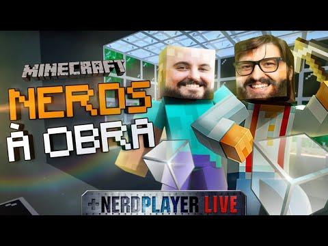 Nerds à Obra |  Nerdplayer LIVE - Minecraft RTX (ep. 1)
