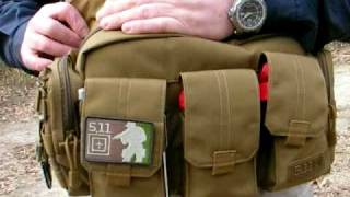 5.11 Tactical Series Bail Out Bag as an EDC Review  by MilPic Japan
