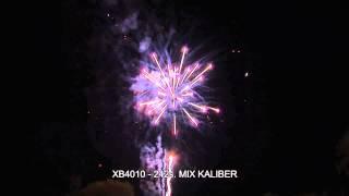 Fajerwerki XB4010 Bateria 242s Mix Caliber Triplex