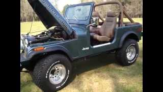 Jeep CJ7 Golden Eagle 401
